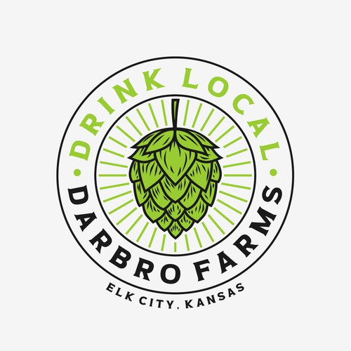 Darbro Farms Drink Local Campaign