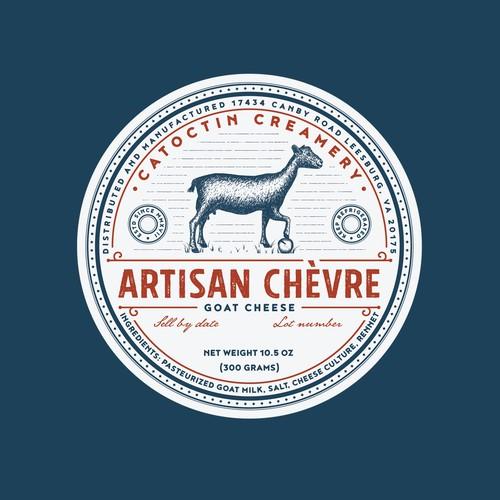 Catoctin creamery artisan goat cheese