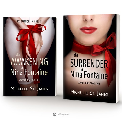 "Book covers for ""Awakening"" Series by Michelle St. James"