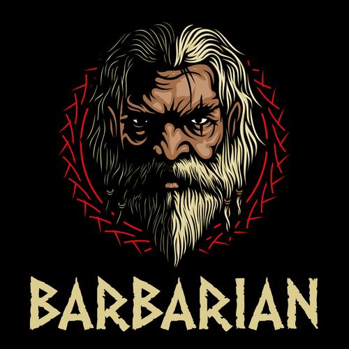 BARBARIAN Logo Designs