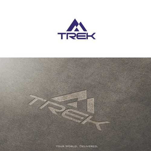 TREK Technology Company Logo Design