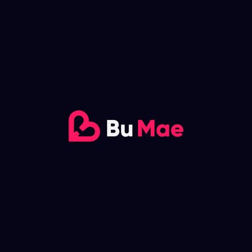 Modern Logo Design for Bu Mae. T-shirt selling business brand
