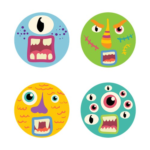 Round monsters