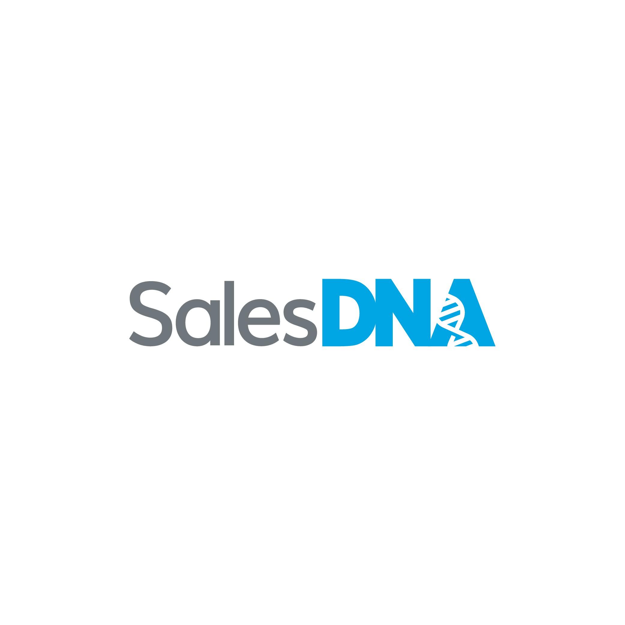 Design a modern, minimalist wordmark logo for SalesDNA