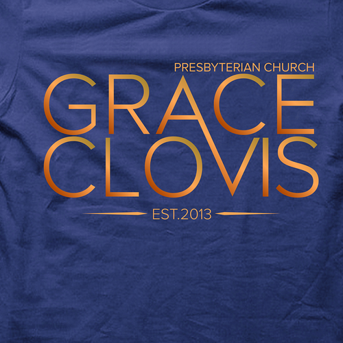 T-shirt design for Grace Clovis Church