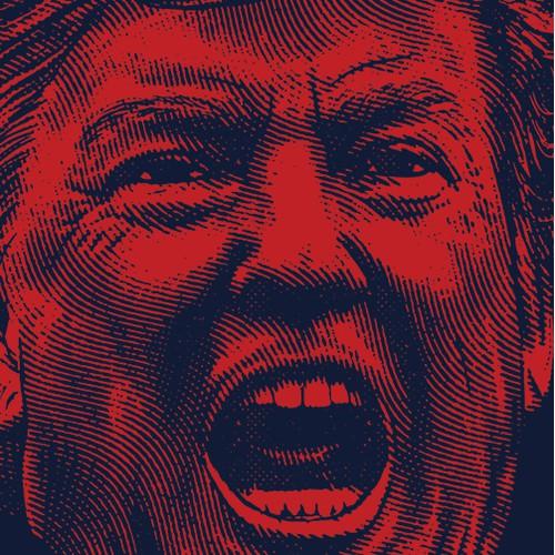 Trump Portrait Illustration