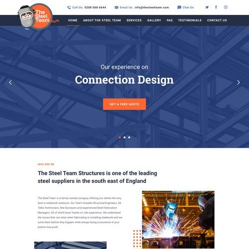 The SteelTeam website