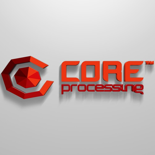 Core Processing needs a new logo and business card