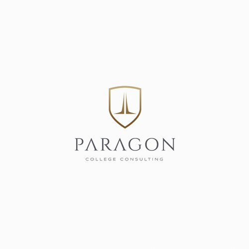Logo concept for a college consulting firm