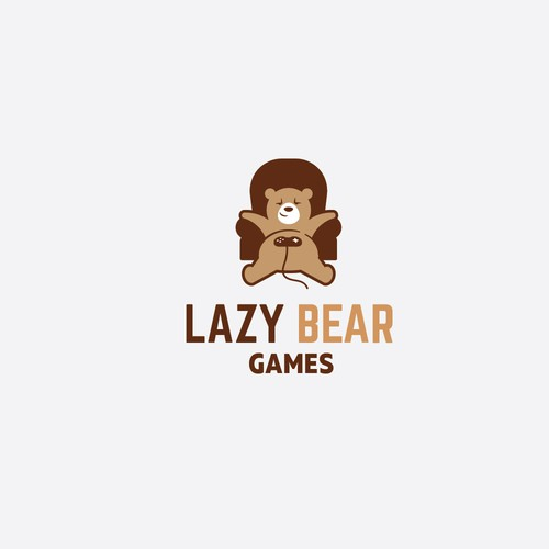 Fun and geometric logo for a indie game development company