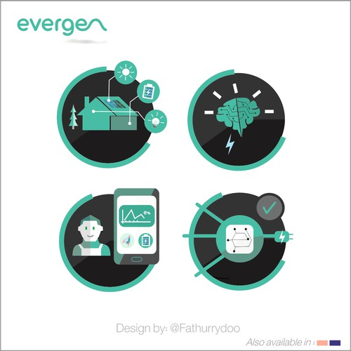 icons for Evergen