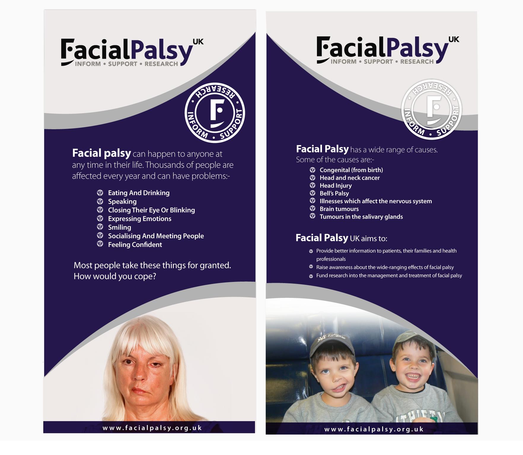 Facial Palsy UK needs a new design