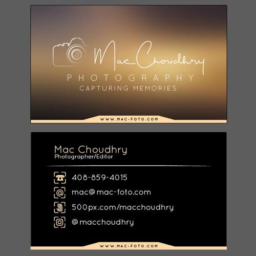 Business Card design winner