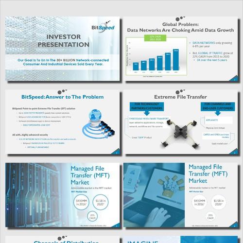 Presentation for a data network company
