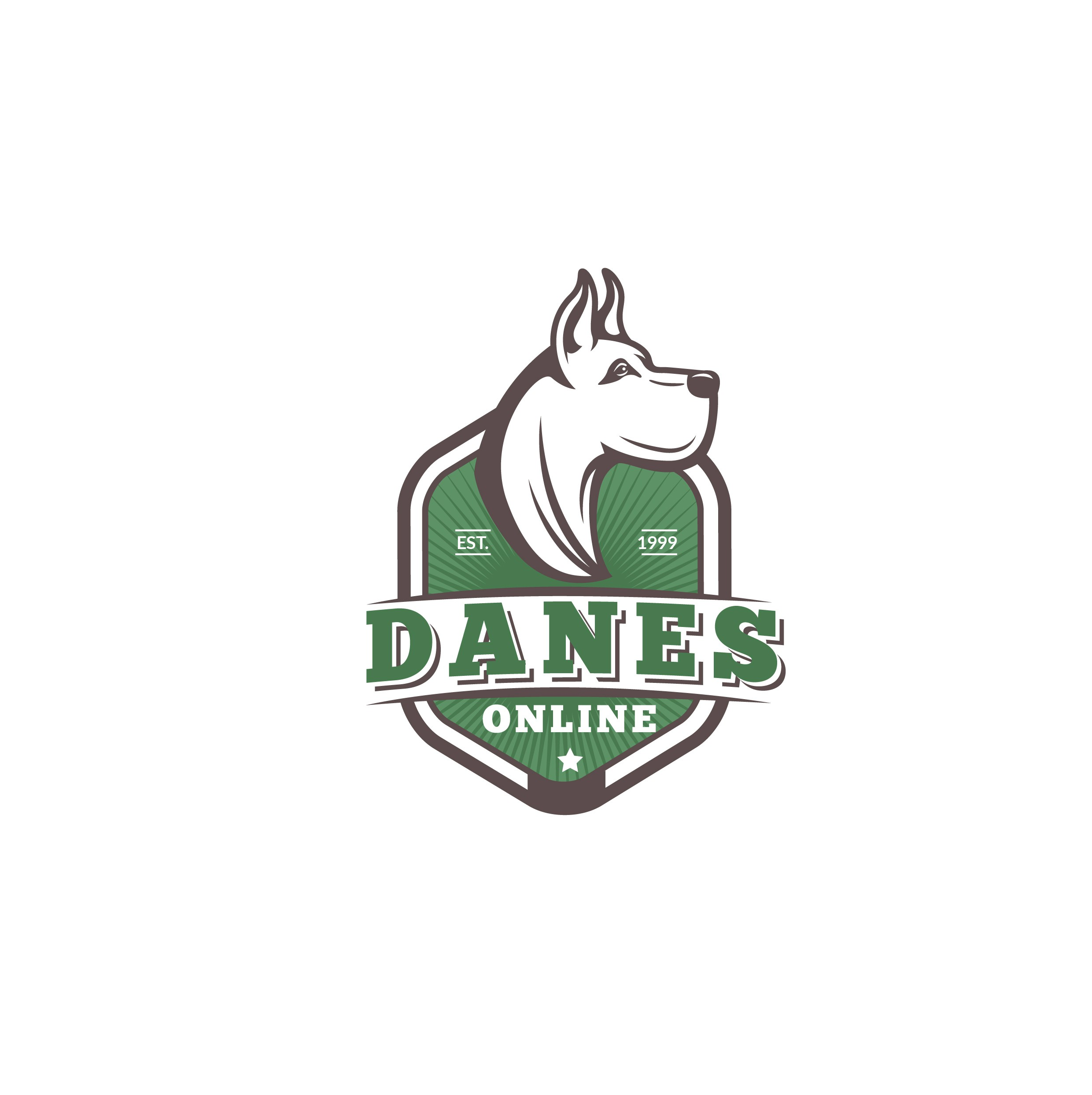 Build A Stellar Danes Online (Great Dane) Logo