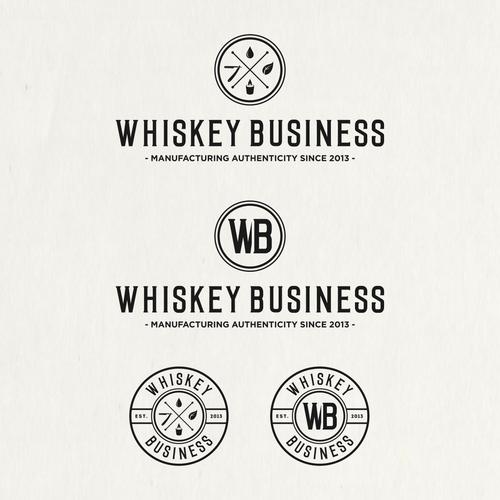 Logo for Whiskey Business.