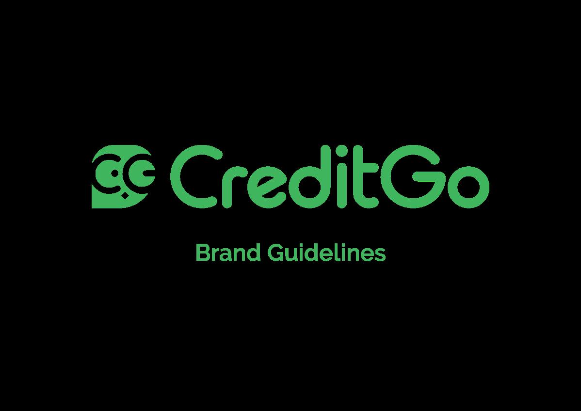 CreditGo brand guideline book
