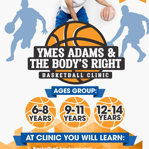 Basketball Clinic Flyer
