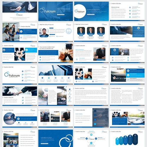 PowerPoint Template for Fulcrum