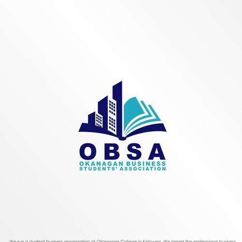 bold logo concept for obsa