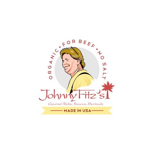 Logo Illustration for Food Product