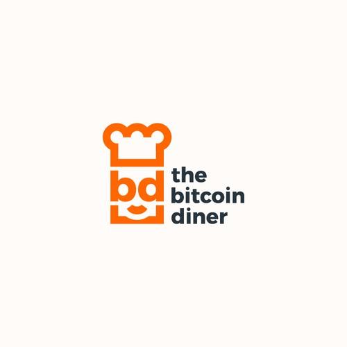 Logo Design for The Bitcoin Diner