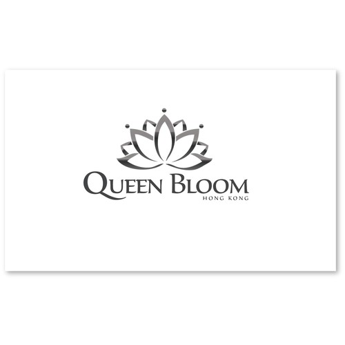 Create the next logo for QUEEN BLOOM
