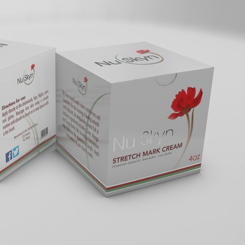 Sophisticated packaging for skin care product