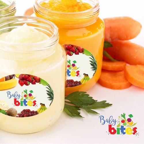 Baby Bites Logo - Organic Baby Food