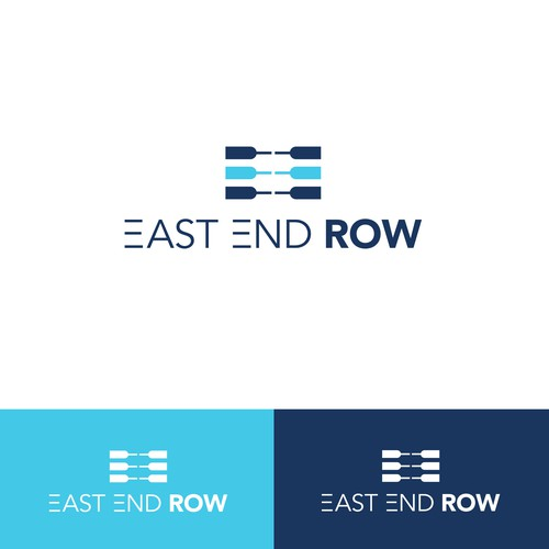 Winning logo designed for a rowing-based fitness studio in Long Island, NY. [May 2016]