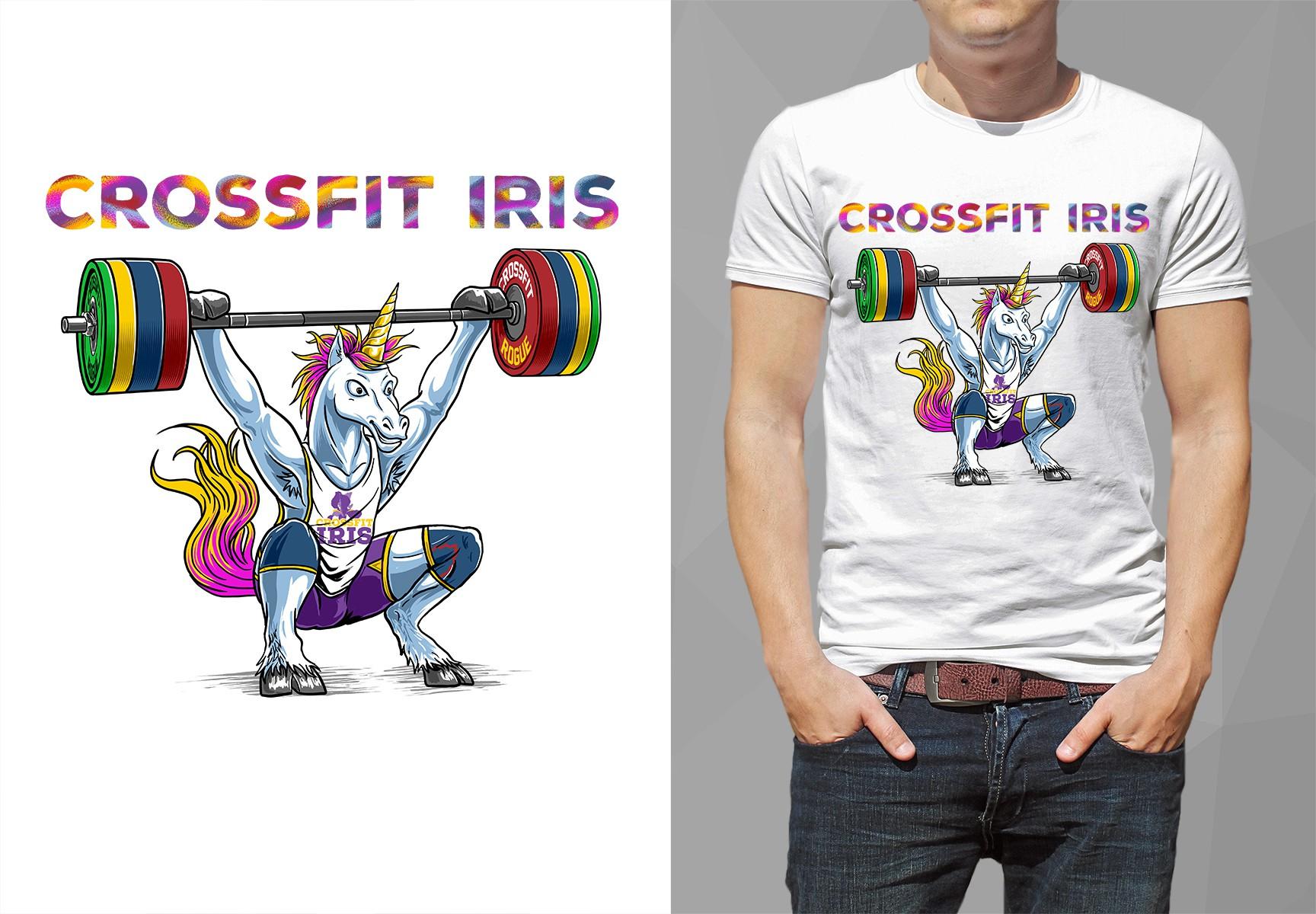 CrossFit Unicorn T-shirt Design