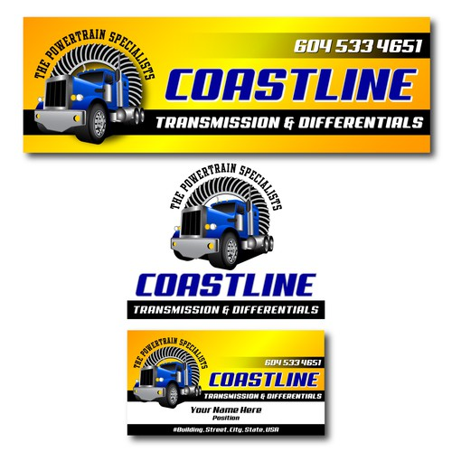 Logo re-work and sign for Coastline