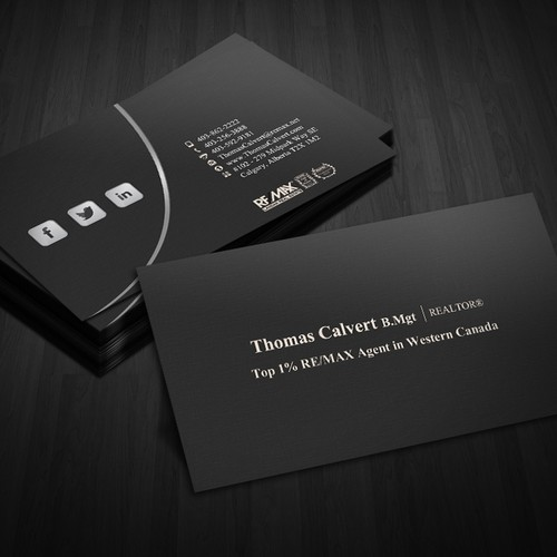 Create business card for RE/MAX Agent