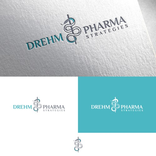 Clean logo design for Pharma Company