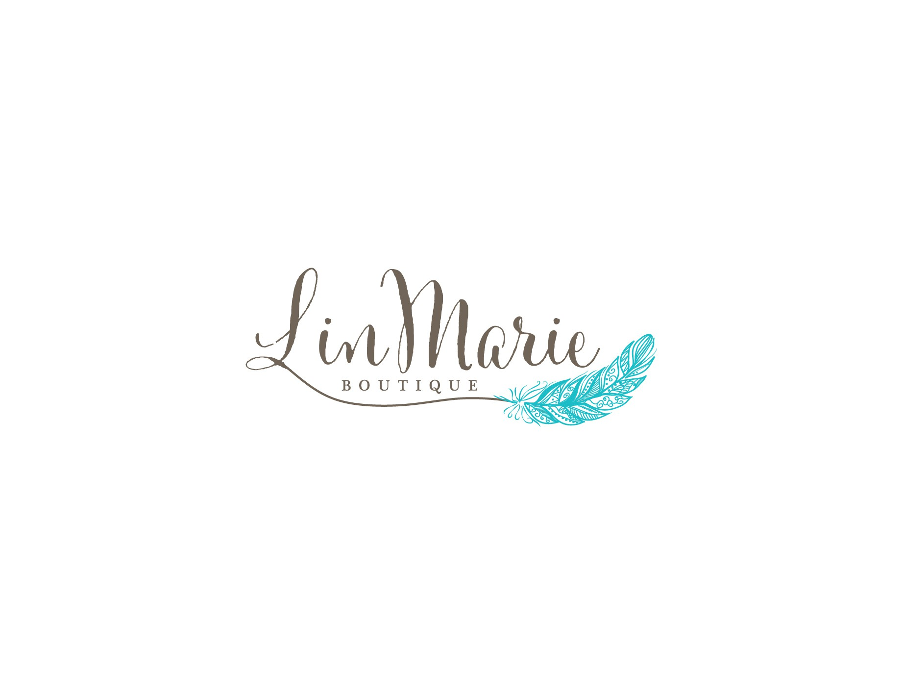 I would love a type of feather included in my logo