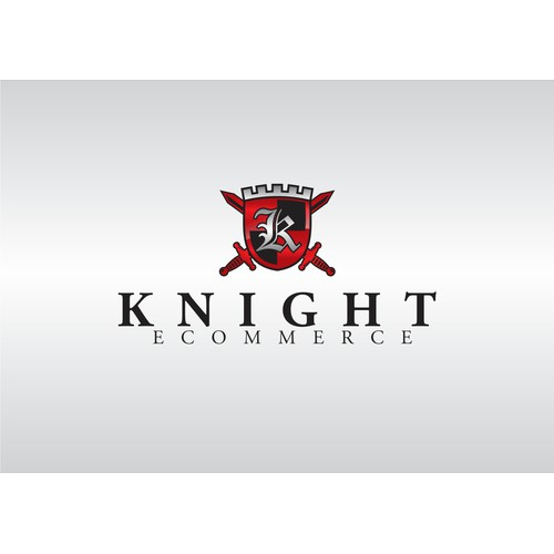 logo for Knight Ecommerce with reference to a previous winning design