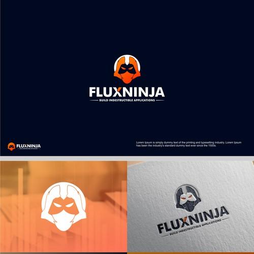 bold logo concept for technology