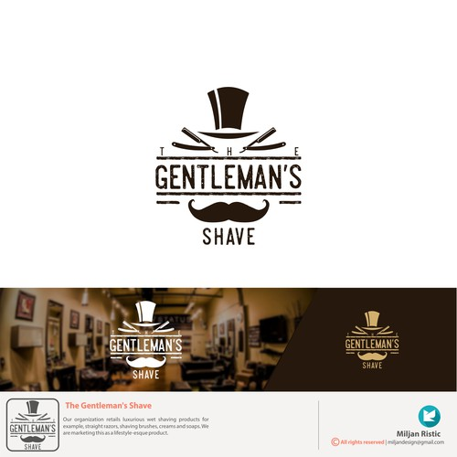The Gentleman's Shave - retails luxurious wet shaving products.