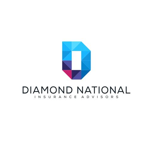 Diamond National (DN) logo