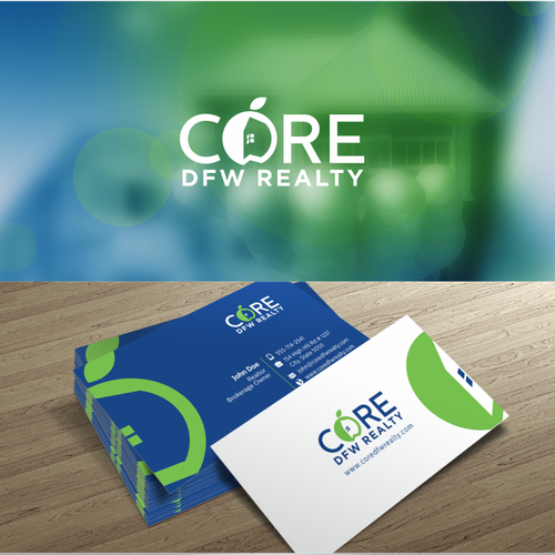 Logo & Business Card Design - Real Estate Brokerage
