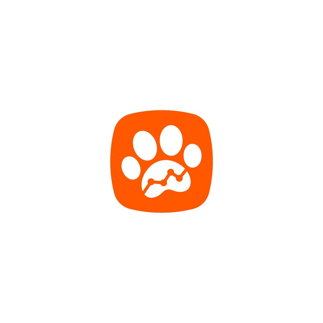 Create a high impact logo for the best pet nutrition software in the world.