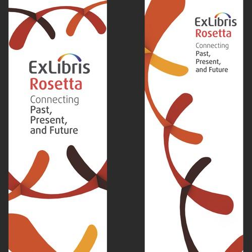 Print or packaging design for Ex Libris