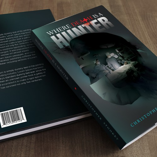 Where Death Is a Hunter Book Cover Design