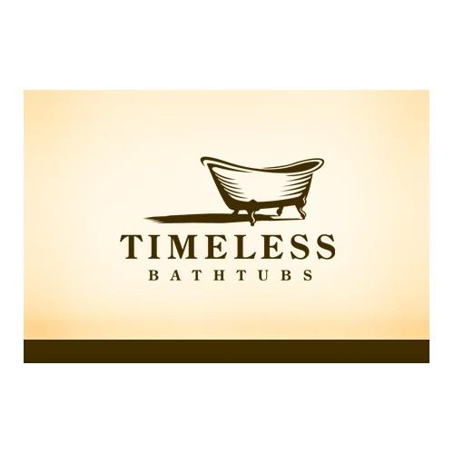 New logo for Timeless Bathtubs and update parent company logo (Joseph & Antonio)