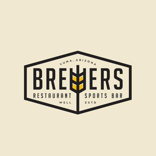 Brewers restaurant logo