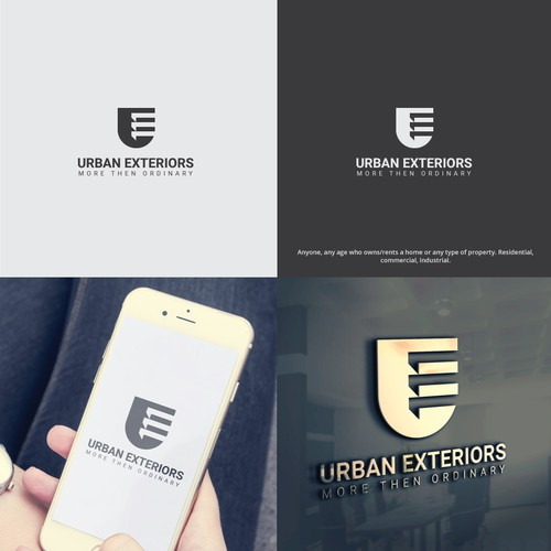 Professional Logo for Home/Real Estate Exterior Company