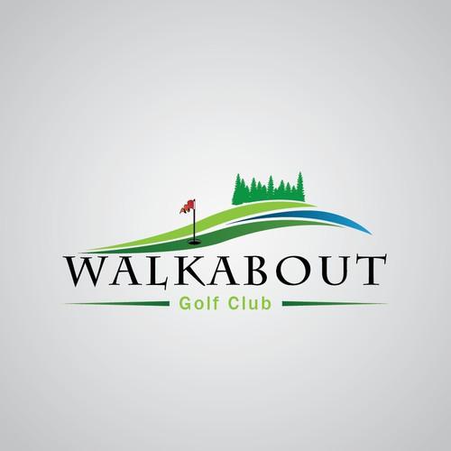 Line Logo Golf Club