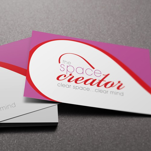 New logo and business card wanted for The Space Creator