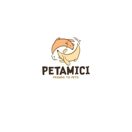 Logotype for a pet-food provider