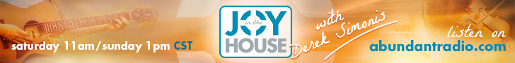 Joy In The House Banner